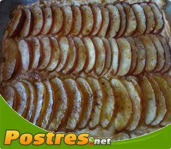 preparación de Postre de Hojaldre rápido de manzana