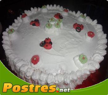 preparación de Postre de Tarta de merengue