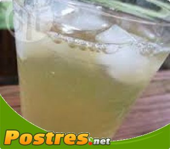 preparación de Postre de Limonada