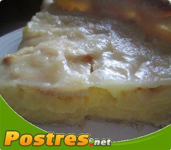 preparación de Postre de Tarta de manzana con masa brisa
