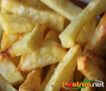 preparación de Patatas