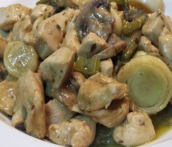 preparación de Receta de Pechuga de Pollo a la Mostaza