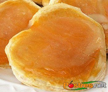 preparación de Postre de Palmeras de Huevo
