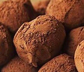 preparación de Postre de Trufas de Nutella