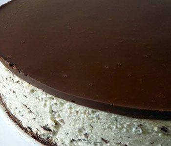 preparación de Postre de Tarta de Stracciatella