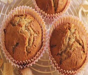 preparación de Postre de Muffins de Tarta de Manzana